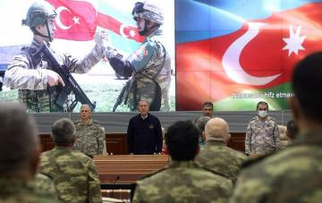 Azerbaijani and Turkish Defense Ministers held a meeting
