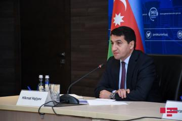 "Hikmat Hajiyev: ""Heads of Azerbaijani diplomatic missions abroad should refrain from making arbitrary statements that contradict the official position of the country"""