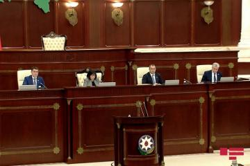 Azerbaijani Parliament's meeting kicks off