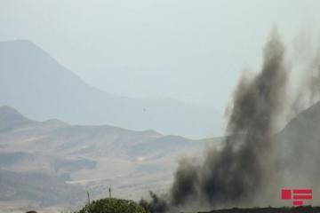 Покидающие Агдам армянские войска совершают пожары