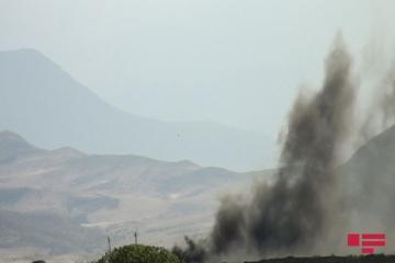 Ağdamı tərk edən Ermənistan qoşunları yanğınlar törədir