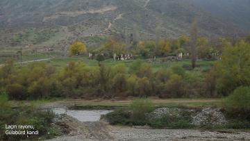 Laçın rayonunun işğaldan azad olunan Güləbürd kəndi - [color=red]VİDEO[/color]