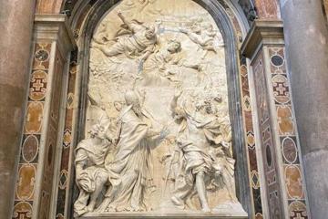 """Heydər Əliyev Fondu Vatikanda Müqəddəs Pyotr Kilsəsində """"Roma Papası I Leon ilə Hun imperatoru Atillanın görüşü"""" barelyefini bərpa edib"""