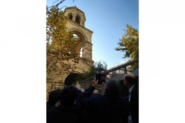 Fransalı deputatlar Bakıdakı erməni kilsəsində olublar - [color=red]FOTO[/color]