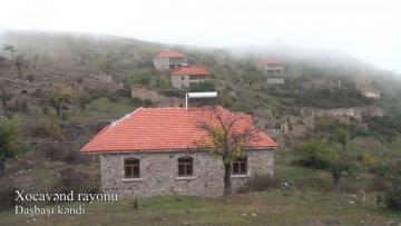 Xocavənd rayonunun işğaldan azad olunan Daşbaşı kəndindən videoreportaj - [color=red]VİDEO[/color]