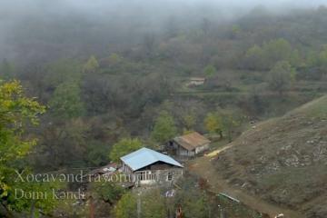 Xocavəndin işğaldan azad olunan Domi kəndi - [color=red]VİDEO[/color]
