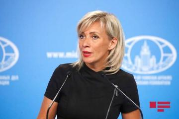 "Zakharova: ""Population leaves Kalbajar for Armenia en masse """
