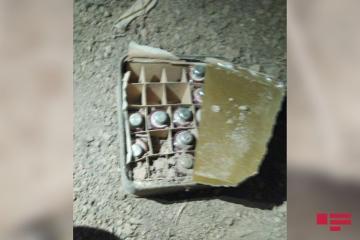 Ermənistan ordusunun qoyub qaçdığı bəzi raketlər kustar üsulla hazırlanıb - [color=red]ANAMA[/color]