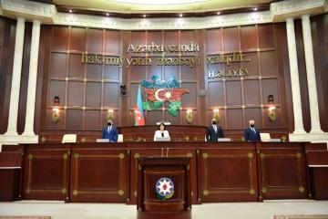 Meeting of Azerbaijani Parliament kicks off