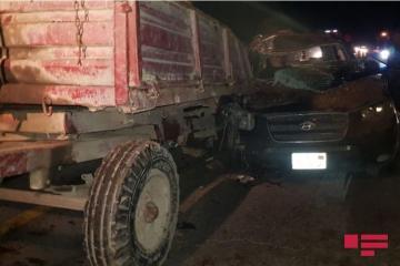 В результате ДТП в Уджарском районе погиб один человек, еще один тяжело ранен - [color=red]ФОТО[/color]