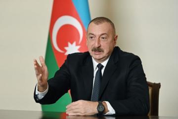 Президент Азербайджана: Наши населенные пункты были в очередной раз атакованы армянскими вооруженными силами и нам пришлось дать им достойный ответ