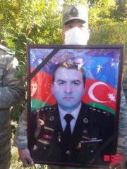 Şəhid polkovnik Babək Səmidli dəfn olunub - [color=red]FOTO[/color]