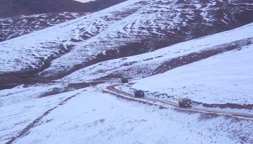 Azerbaijani MoD releases another video of the entry of our units to the Kalbajar region - [color=red]VIDEO[/color]