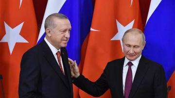 Эрдоган в беседе с Путиным высказался за скорейшее начало работы Мониторингового центра по Карабаху