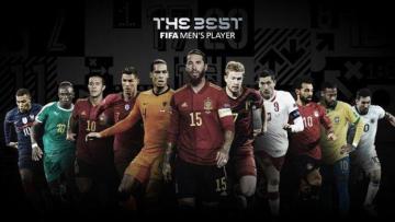 ФИФА объявила имена номинантов на приз лучшему футболисту года
