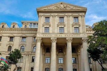 МИД Азербайджана: Принятие Сенатом Франции абсолютно предвзятой резолюции может расцениваться лишь как провокация