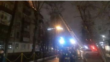 Из-за пожара в двух жилых домах в Химках эвакуировали 100 человек