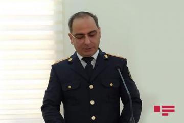Gəncə Şəhər Baş Polis İdarəsinə yeni rəis təyin edilib