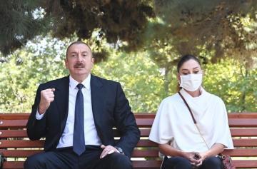 Президент Азербайджана: Если правительство Армении выполнит мое условие, то бои остановятся