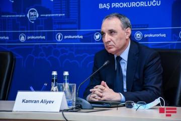 Генпрокурор: В результате агрессии армян с 27 сентября до сегодняшнего дня погибли 19 гражданских лиц, 63 человека получили ранения