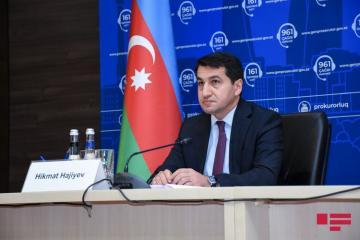 Hikmət Hacıyev: Ermənilər Xızı və Abşeron bölgəsinə iki 300 km məsafəli orta mənzilli raket atıb