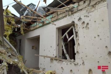 Вооруженные силы Армении продолжают разрушать и поджигать гражданские объекты