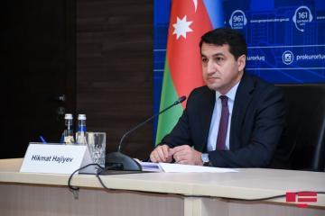 Помощник президента: Обстрел Гянджи, Барды, Бейлагана и других городов говорит о слабости военно-политического руководства Армении