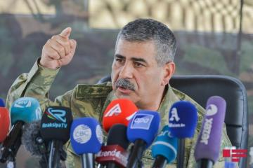 Azerbaijani Defense Minister orders the Army to plan large-scale strikes on the enemy's military-strategic infrastructure