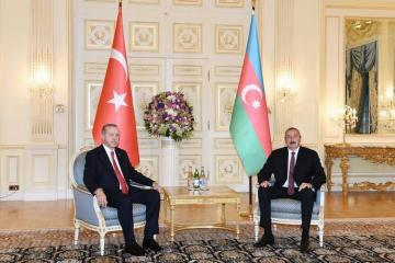 Azerbaijani President: Erdogan's resolute statements have shown the whole world that Azerbaijan is not alone