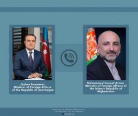 Əfqanıstanın Xarici İşlər naziri ölkəsinin Azərbaycana dəstəyini bir daha bəyan edib