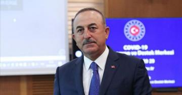 "Cavusoglu: ""We are in Baku to show our support to our brothers in Azerbaijan"""