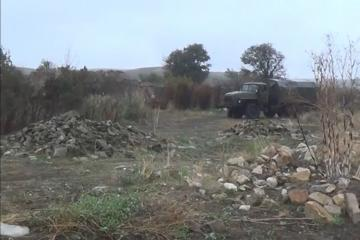 Azerbaijan's Defense Ministry spreads video recordings of Chakhirli village of Jabrayil, liberated from occupation - [color=red]VIDEO[/color]