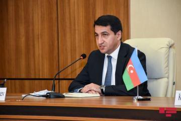 Хикмет Гаджиев: Последние ракетные обстрелы со стороны Армении еще раз подтверждают, насколько агрессивна военная доктрина этой страны
