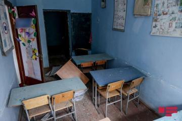 Одна из целей армянских вооруженных формирований - школы - [color=red]ФОТО[/color]