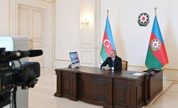 President Ilham Aliyev was interviewed by Euronews TV  - [color=red]UPDATED[/color]