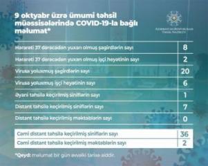 В Азербайджане еще у 20 учащихся выявлен коронавирус