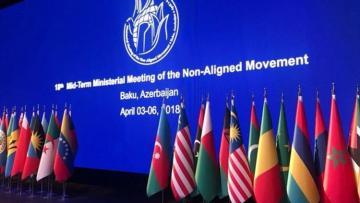Страны-члены Движения неприсоединения распространили заявление в связи с провокациями Армении