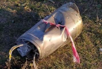 Ermənistandan Mingəçevir istiqamətində atılan ballistik hədəfin qalıqları  - [color=red]FOTO[/color]