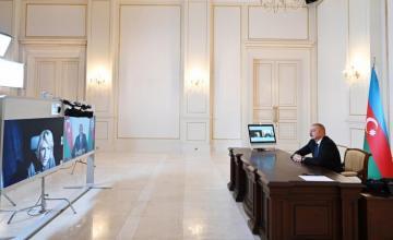 """Prezident İlham Əliyev """"Sky News"""" televiziya kanalına müsahibə verib"""