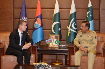Pakistan Silahlı Qüvvələri Azərbaycanı dəstəklədiyini bir daha bəyan edib