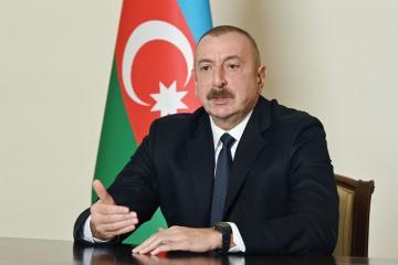 Президент Ильхам Алиев дал интервью испанскому информационному агентству EFE