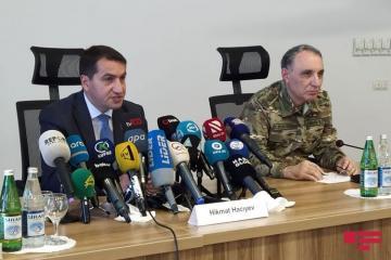 """Hikmət Hacıyev: """"Ermənistan öz riyakarlığını növbəti dəfə göstərdi"""""""