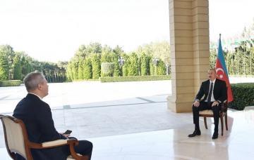 """Prezident İlham Əliyev: """"""""Müzəffər erməni ordusu"""" haqqında mif puç oldu"""""""