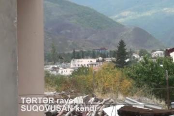 İşğaldan azad olunan Suqovuşan kəndindən yeni videogörüntülər - [color=red]VİDEO[/color]