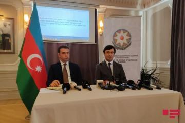 В посольстве Азербайджана в Грузии состоялся брифинг в связи с атаками Армении на гражданское население