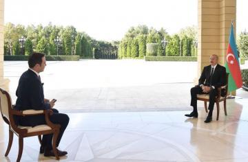 Президент Ильхам Алиев: Если армянские солдаты покинут наши земли, то и конфликту будет положен конец