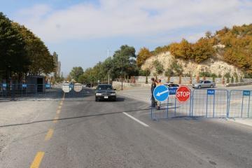 МВД: В связи с коронавирусом на въезде-выезде из Шеки установлены посты