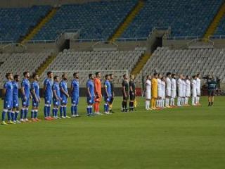 Азербайджан сыграл вничью с Кипром в Лиге наций
