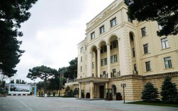 MoD: Several human settlements of Azerbaijan are being shelled starting from the morning