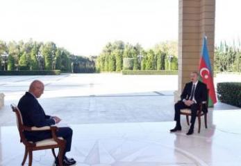 """Prezident İlham Əliyev: """"Hərbi-siyasi yol ən məqbul yoldur"""""""